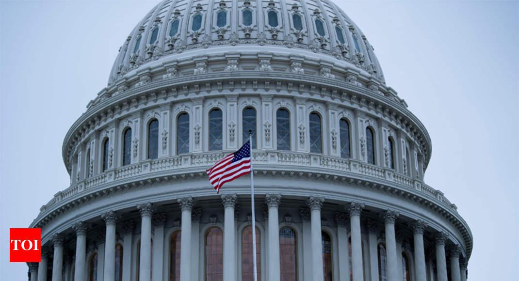 US midterms: Democrats retake control of House of Representatives, Republicans retain Senate - Times of India thumbnail