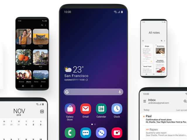 These smartphones are getting Android 9 Pie-based OneUI soon