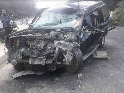 Three killed in accident on Hardoi-Lucknow road | Lucknow