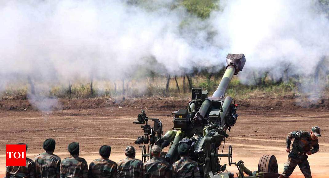 First since Bofors: Army inducts M-777 howitzers, K-9 Vajra - Times of India