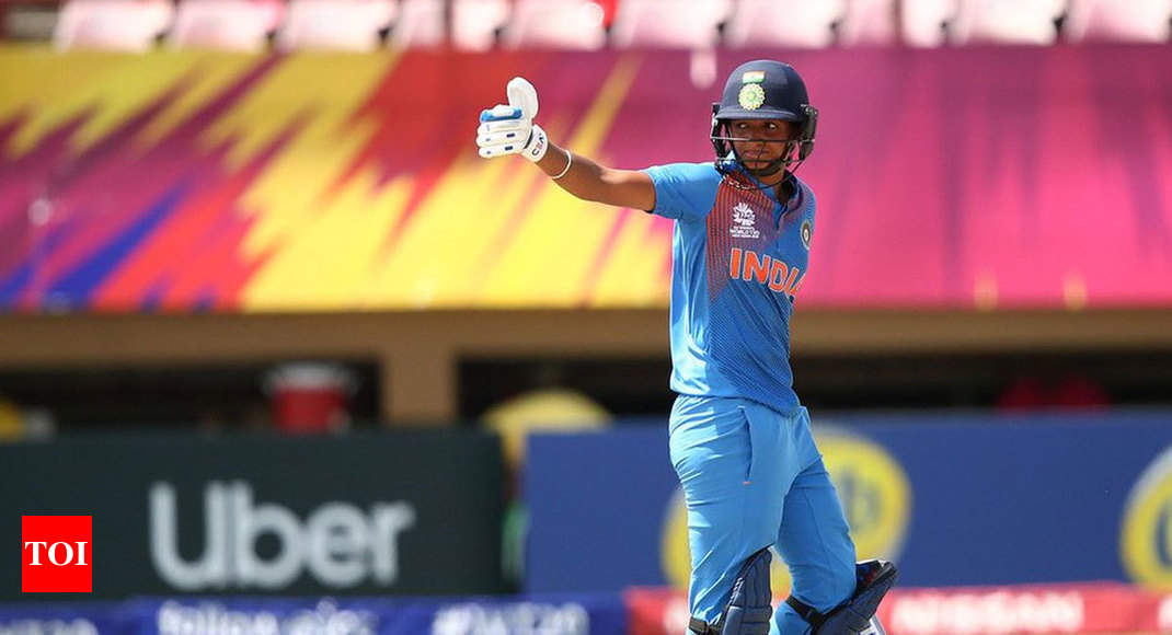 ICC Women's World T20: Harmanpreet Kaur record ton guides India to 34-run win against New Zealand - Times of India