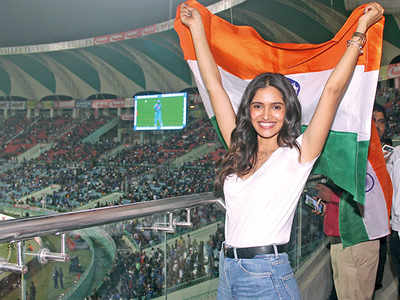 'Being a Lucknowite I felt proud to be watching the match live'