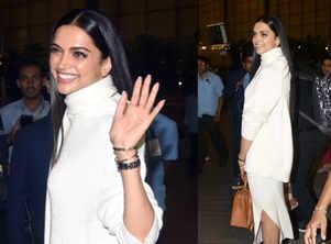 Bride-to-be Deepika stuns in white