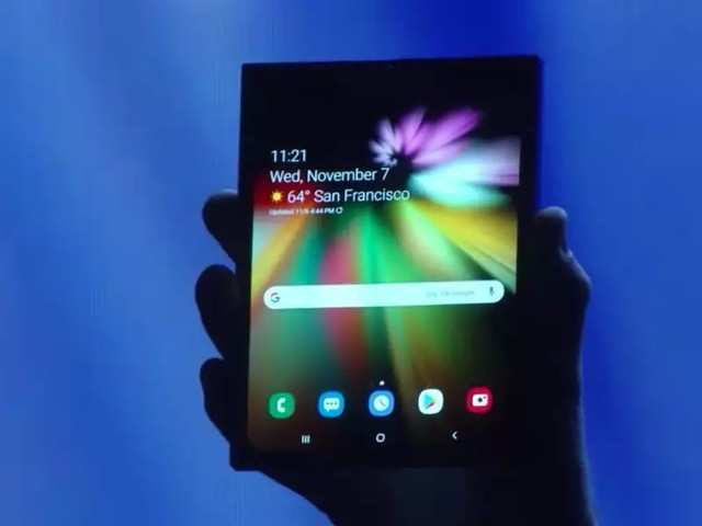 Samsung Unveiled Its Much Anticipated Foldable Phone In San Francisco Urging Android Developers To