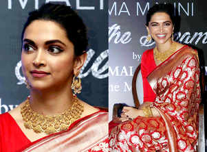 5 most-loved bridal looks of Deepika Padukone