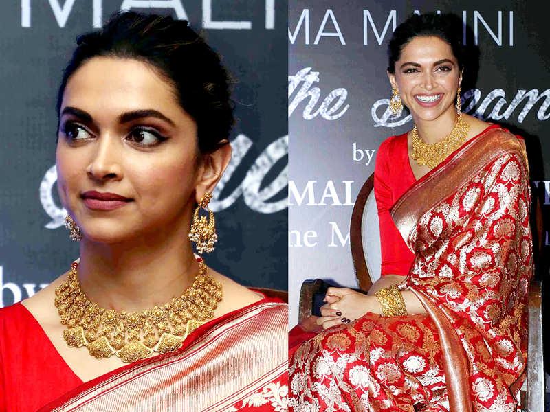 Deepika Padukone Wedding Dress Photos Before Deepika Padukone Ranveer Singh Marriage Here S A Look At 5 Most Loved Bridal Looks Of Deepika