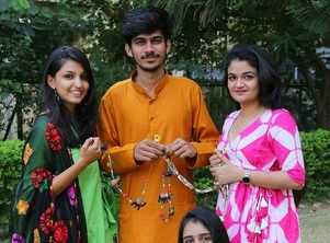 Indori students Go Green this Diwali