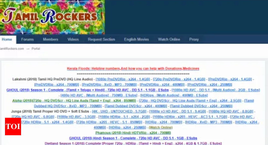 Tamilrockers Website: How Does The Website Work? Who Are