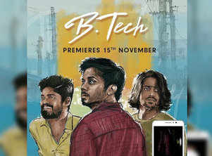 Tharun Bhascker comes up with a new web series titled 'B.Tech'