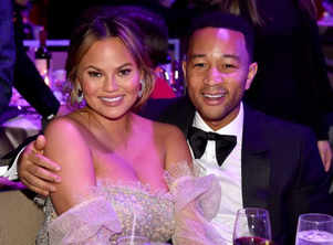 John Legend emotional while honouring wife