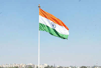 Indian Flag: 100-ft tricolours to be installed at 75 railway