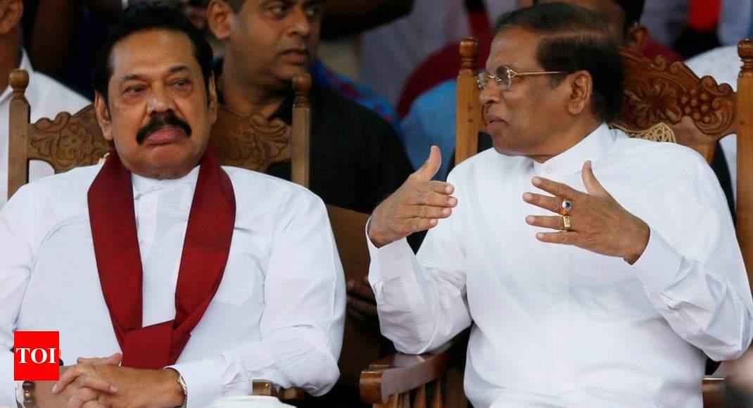 Sri Lanka parliament votes against Mahinda Rajapaksa - Times of India thumbnail