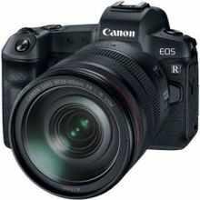 Canon EOS R (RF 24-105 mm f/4 R L IS USM Kit Lens) Mirrorless Camera