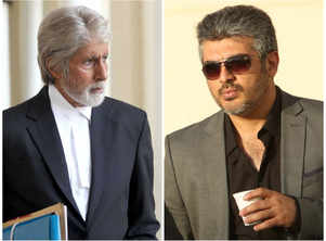 Boney Kapoor meets Ajith with director Vinoth in Chennai
