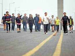 These #FitMornings have 200 Noidawallahs walking 10km daily