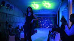 Choreographer Karun Raman fashion show