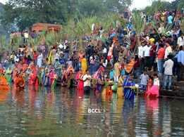 Chhath festivities in Kolhapur