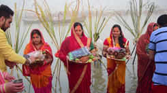 A glimpse of Chhath Puja celebrations in Allahabad
