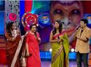 Actresses Kaniha and Menaka enjoy their time on Comedy Stars