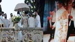 Pics and Videos: Deepika Padukone, Ranveer Singh's Konkani style wedding, fireworks in display
