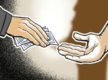 Police naik held for accepting bribe