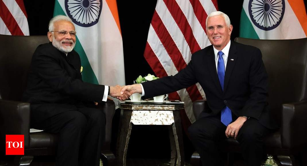 'Mainstreaming' of terrorists by Pakistan a threat, PM tells US VP - Times of India thumbnail