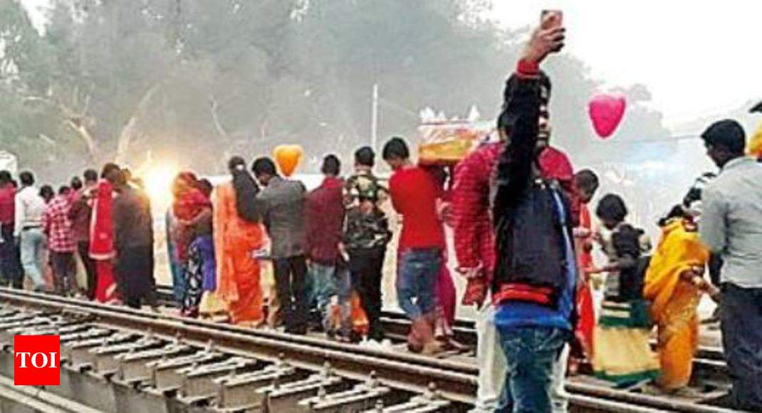 No lesson learned from Dussehra tragedy, Chhath Puja on rail tracks - Times of India thumbnail
