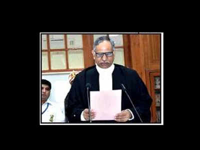 Allahabad High Court: Allahabad HC Chief Justice Mathur takes oath