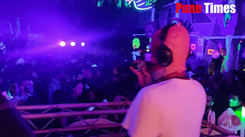 Some horror DJs at Halloween party in Pune.