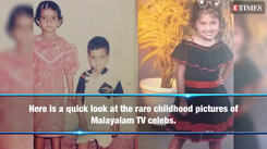 Childhood pictures of Malayalam TV celebs that are too cute to be missed