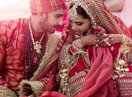 New photos of Deepika-Ranveer wedding