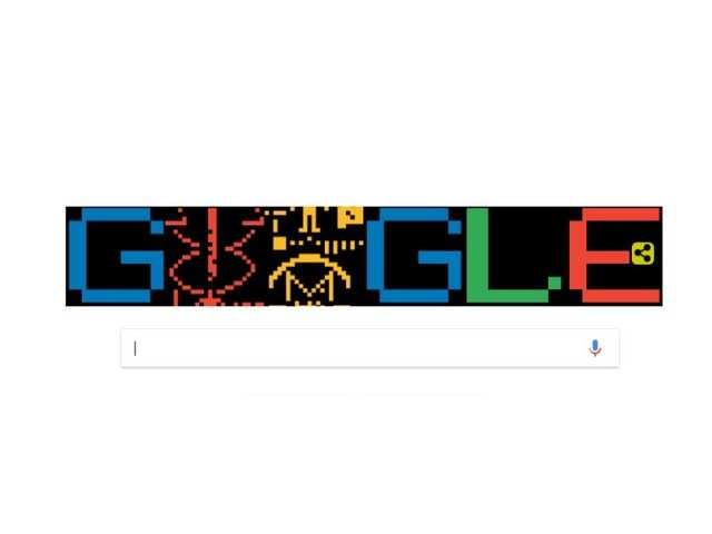 Google doodle celebrates 44th Anniversary of the Arecibo Message