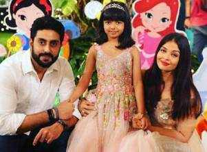 Abhishek's adorable b'day wish for daughter