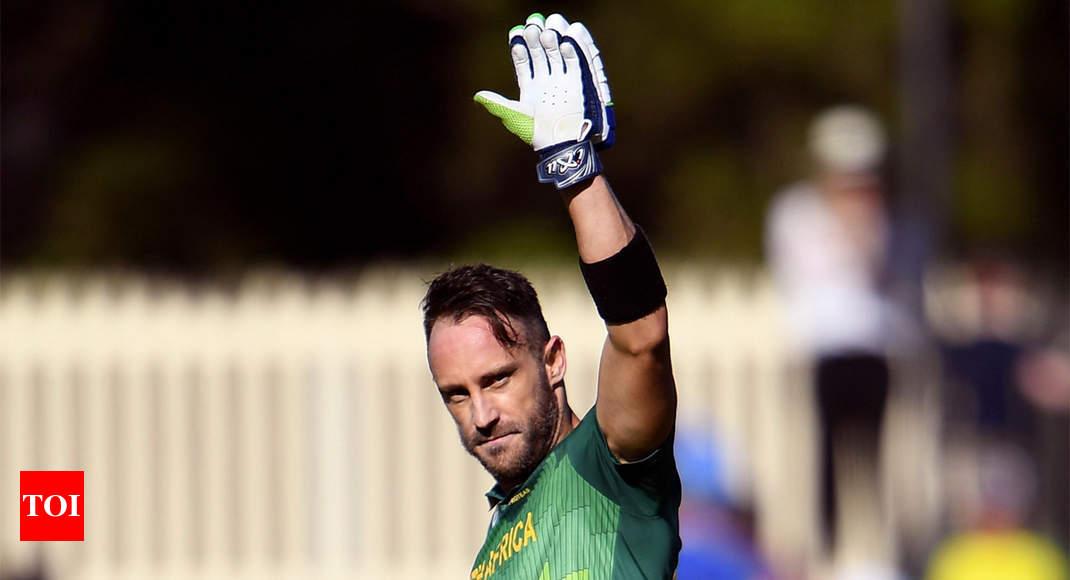 Faf du Plessis signals T20I retirement post 2020 World T20 - Times of India