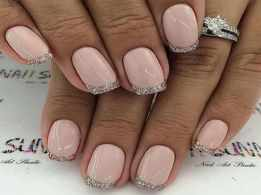 Shimmer nails are all the rage