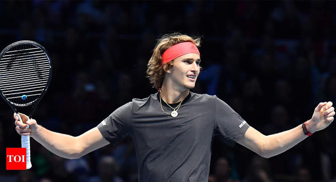 Alexander Zverev Shocks Roger Federer To Reach Final Of Atp Finals