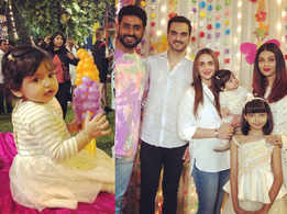 Photo: Esha Deol shares an adorable photo of daughter Radhya from Aaradhya Bachchan's birthday party
