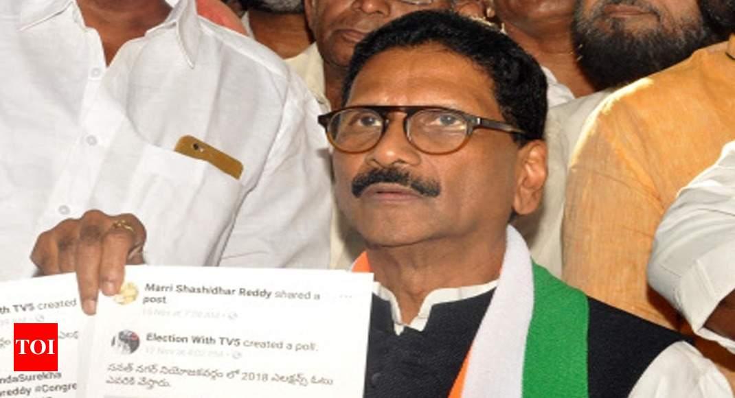Big gun Marri Shashidhar Reddy calls Uttam back-stabber ...