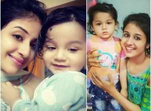 Paridhi shares pictures of her baby boy