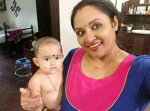 Parukutty looks too cute in this video