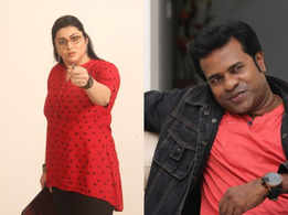 Namitha to play a fiery journalist in a political film