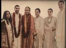 Latest picture from DeepVeer's wedding