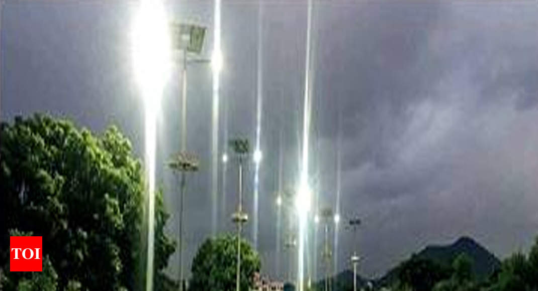 Image result for NHAI installs solar lights at dangerous spots on bypass