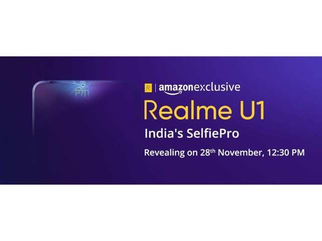 Realme U1 to launch on November 28 to be exclusively available on Amazon