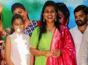 Actress Roja celebrates her birthday