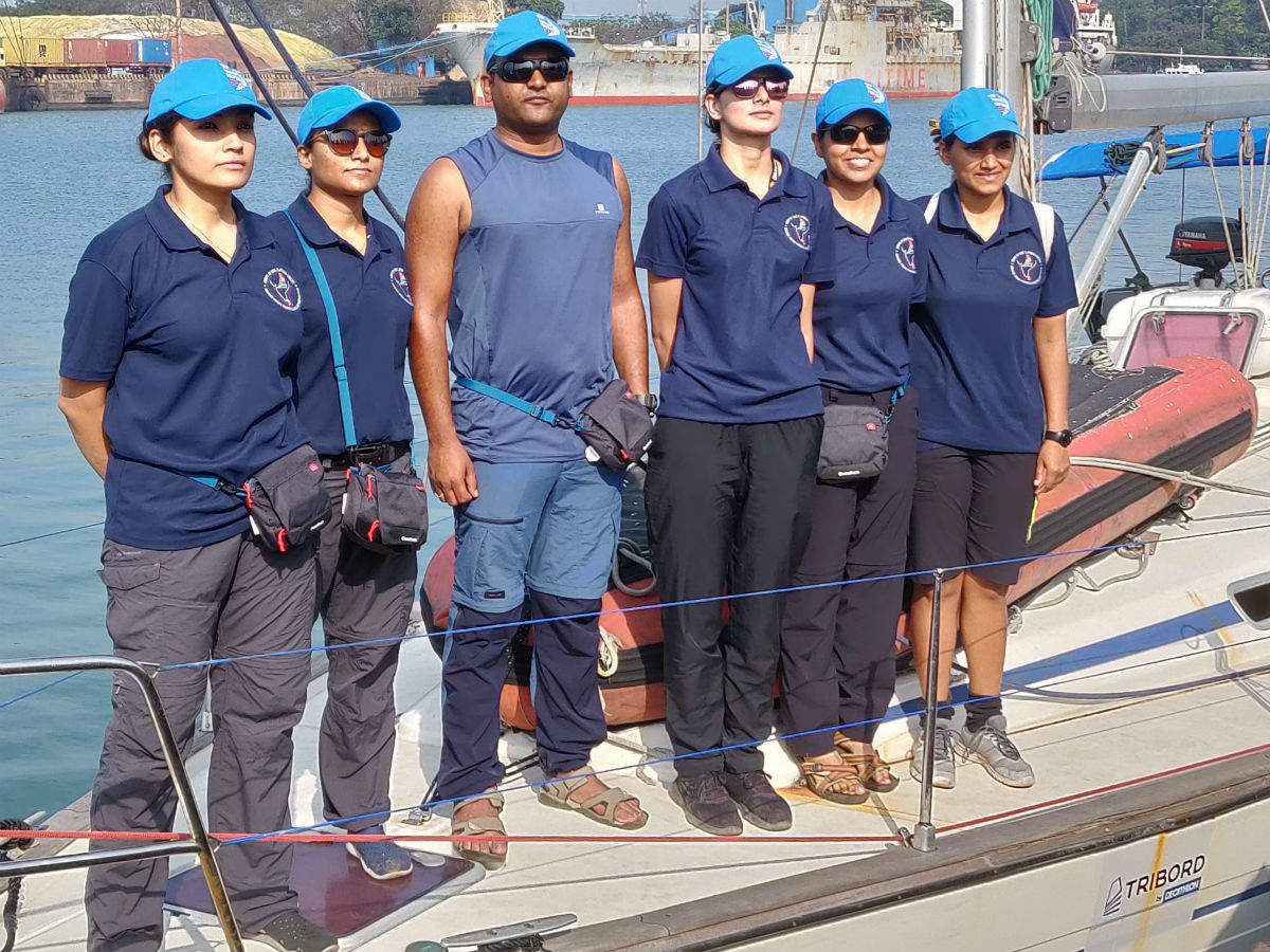 Women officers on SV Frama want to do one better than INSV Tarini crew    India News - Times of India