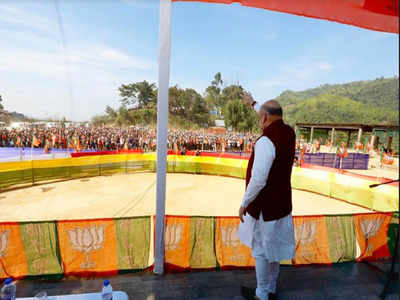 Congress destroyed Mizoram, only BJP can save it: Amit Shah