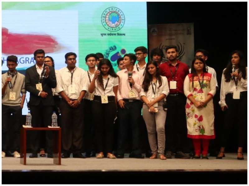 Students at the conference