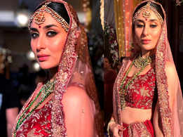 Style lessons to take from Kareena's latest bridal look