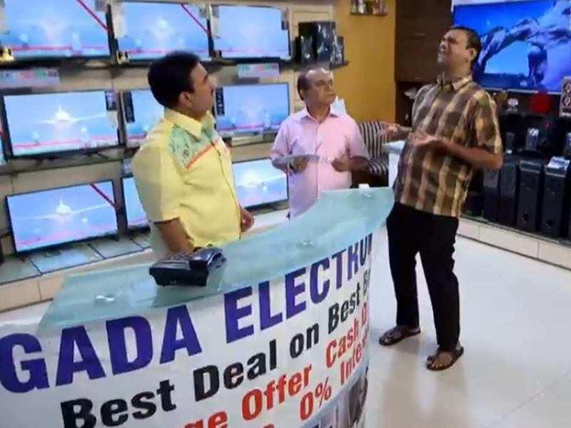Taarak Mehta Ka Ooltah Chashmah written update, November 20, 2018: Jethalal  is thinking of selling Gada electronics - Times of India